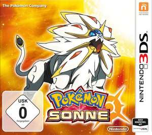 Pokemon: Sonne (3DS) für 19,96€ (GameStop)