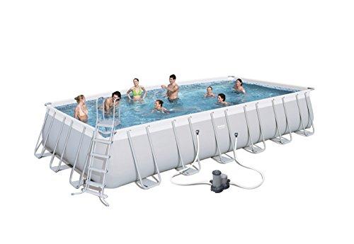 7 Meter Pool im Garten? 732x366x132cm von Bestway mit Filterpumpe [Amazon]