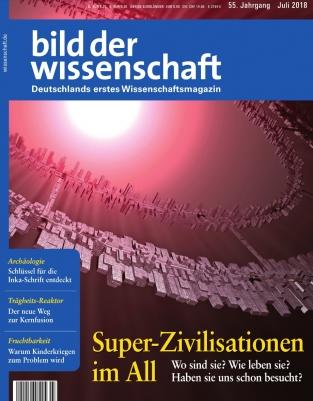 Bild der Wissenschaft Abo: 1 Jahr (14 Ausgaben) für 121,52€ mit 120€ BestChoice-Gutschein