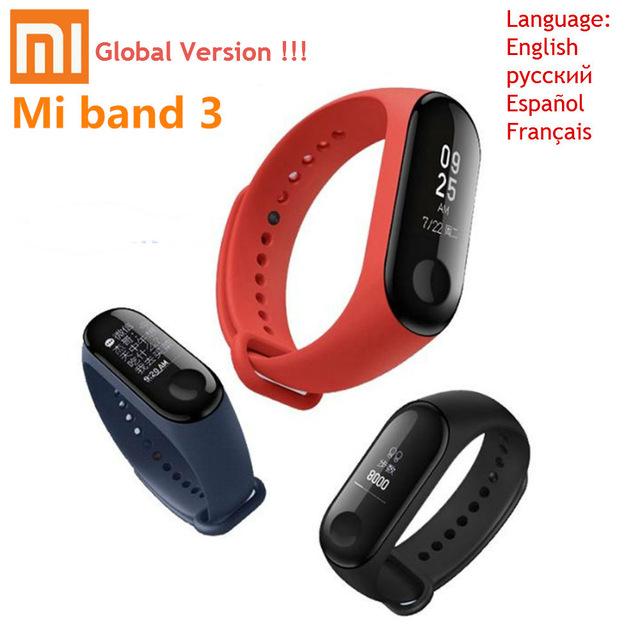 Xiaomi Mi Band 3 Smartband (International Version) für 24.52€ [Aliexpress]