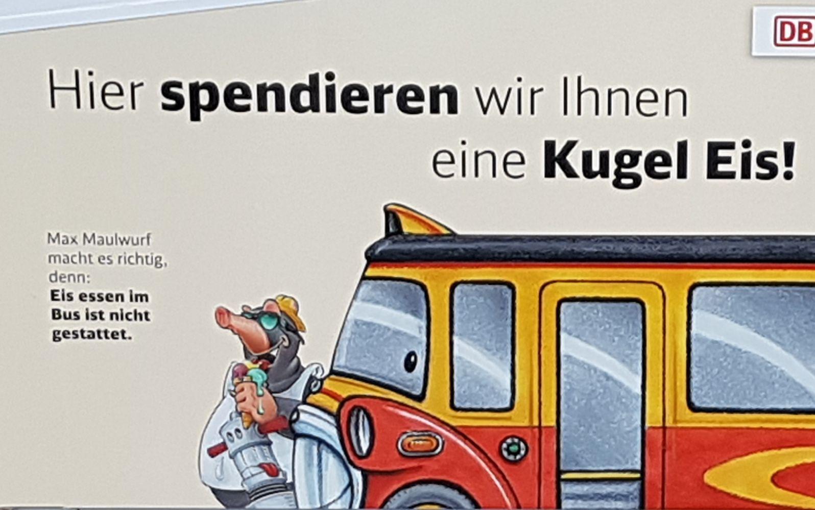 Freebie: Eine Kugel Eis gratis am Hauptbahnhof in Hamm (Westf.) & in Dortmund.