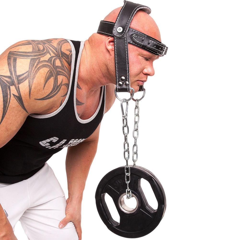 C.P. Sports Kopf- und Nackentrainer aus Leder, gepolstert für Nackenmuskulatur @ ebay.de