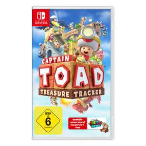 [LOKAL Spielwaren Schweiger - Nürnberg] Nintendo Switch - Captain Toad: Treasure Tracker; 3DS - Metroid & Wario Ware Gold