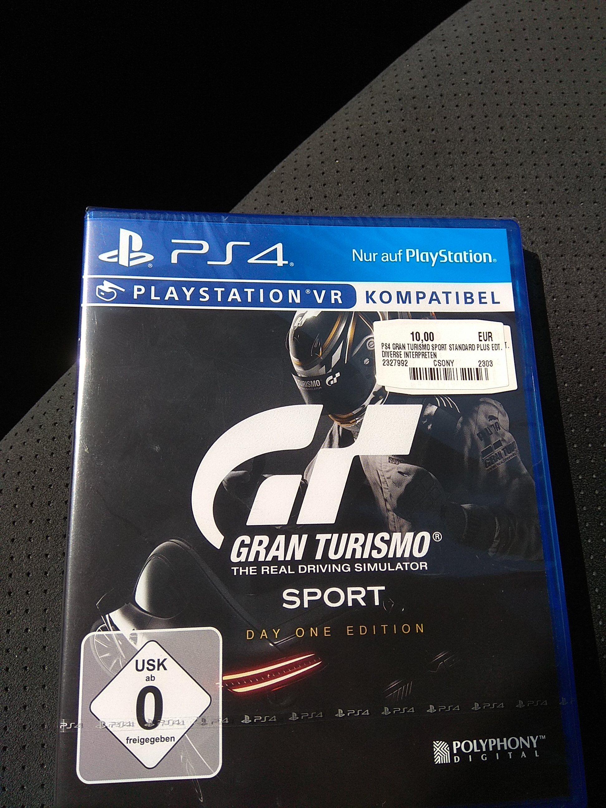 (Lokal MediaMarkt Gründau) Gran Turismo Sport für 10,-