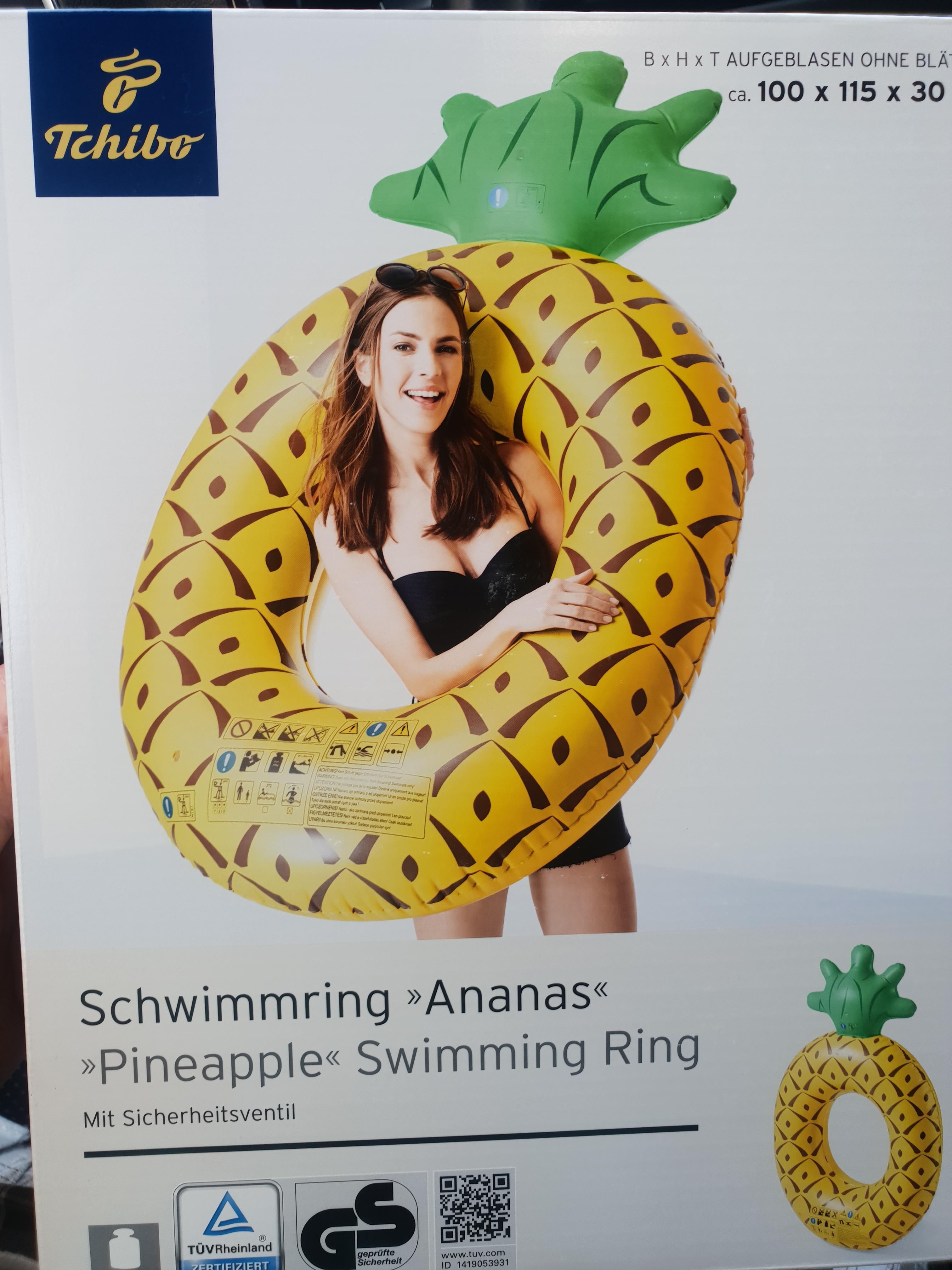 [Offline & online] Schwimmring Ananas @ Tchibo - Kaufpark Eiche