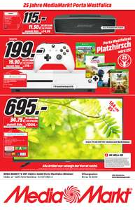 Regional MM Porta Westfalica: Xbox One S 1TB inkl. Minecraft, Halo 5, State of Decay 2 und Forza Horizon 2