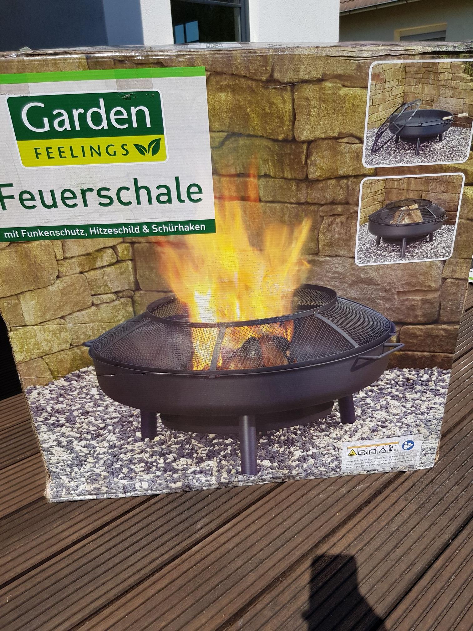 Feuerschale Garden Feelings (Lokal Aldi Hameln)