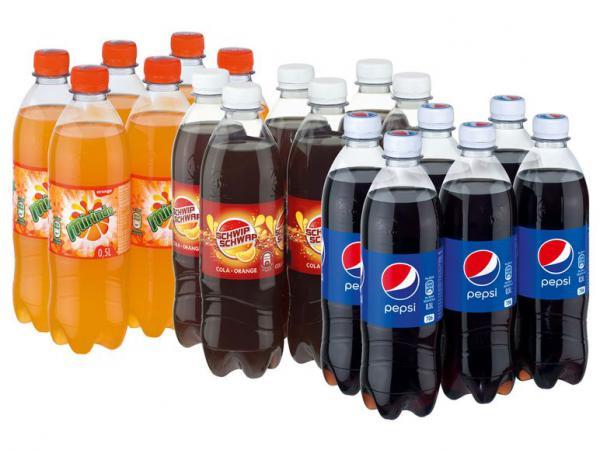 [Kaufland] Pepsi/Mirinda/7Up/Schwip Schwap je 1,5l Flasche für 0,49€