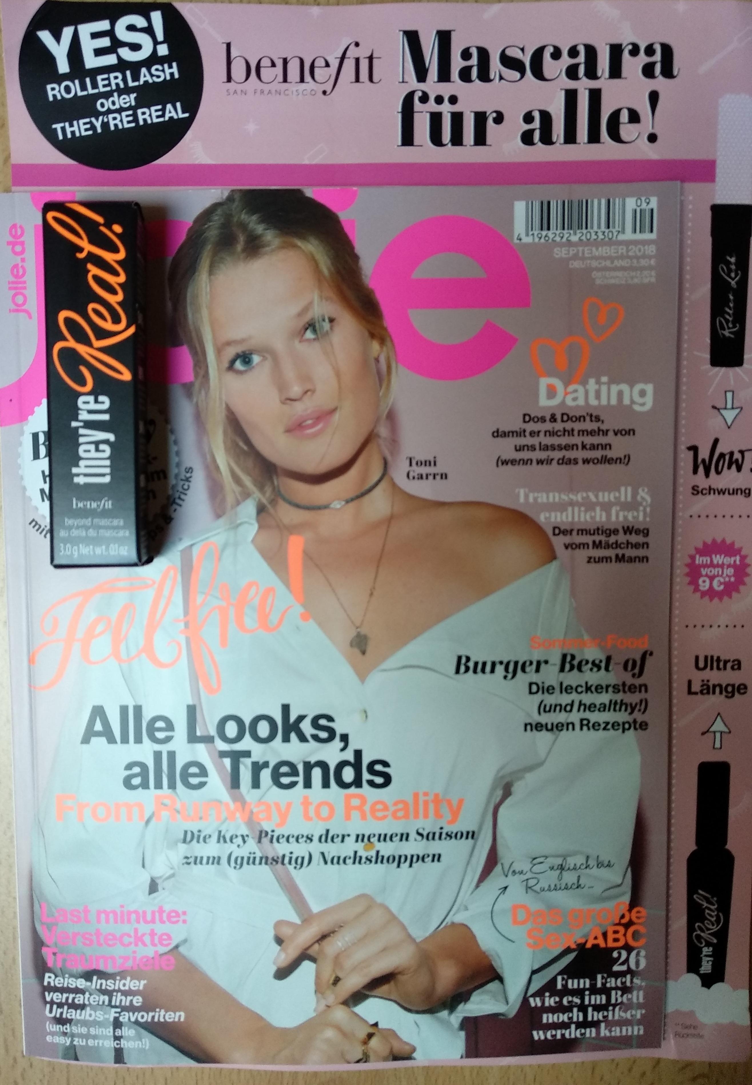 Aktuelle Ausgabe Jolie GOODIE benefit Mascara