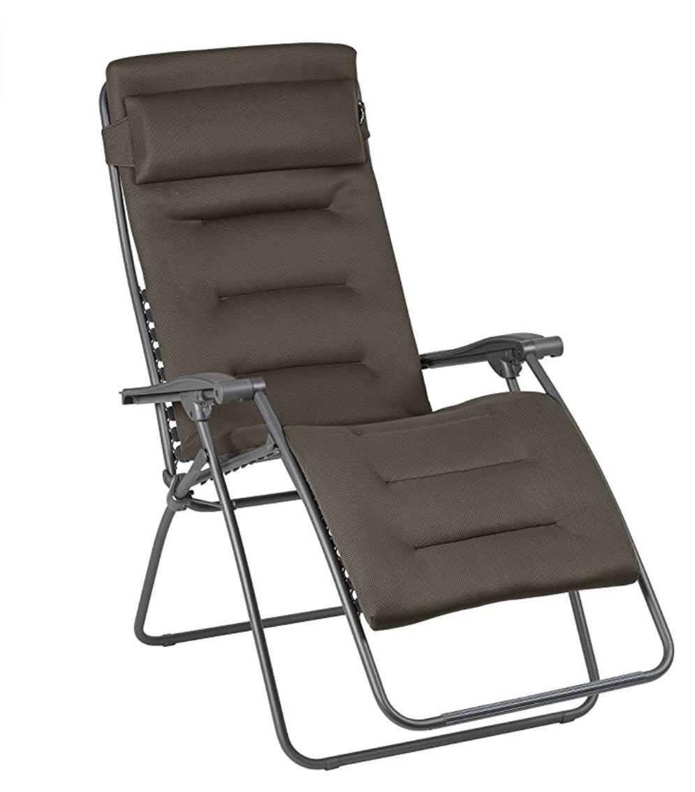 Lafuma Relax-Liegestuhl, RSX Clip XL, Air Comfort, in Acier