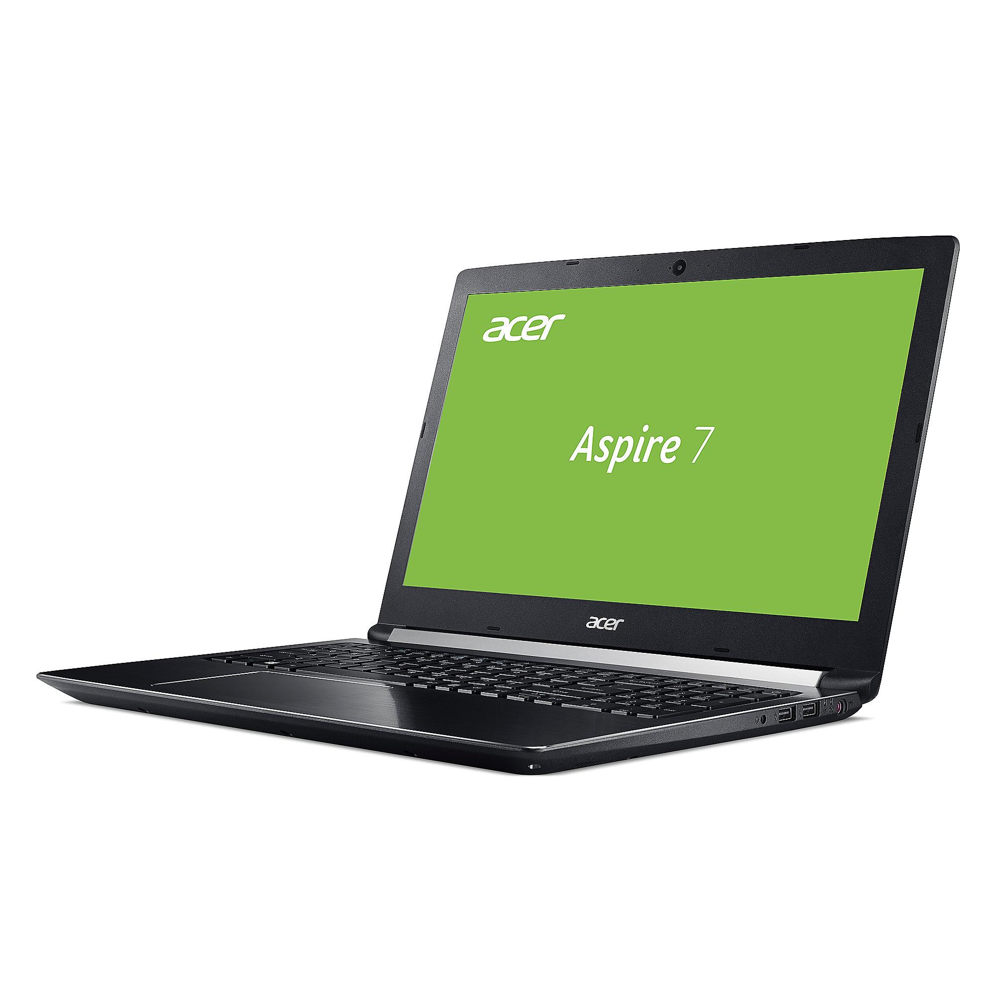 Acer Aspire 7 A715-71G-55QG Notebook i5-7300HQ 128GB SSD 1GB HDD GTX 1050 ohne Windows