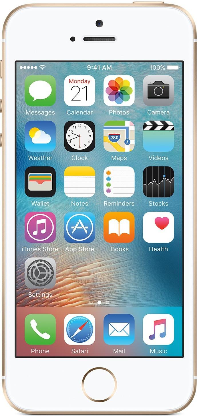Apple iPhone SE mit 128GB in silber, rosé und gold für 348€, 347€ und 341€