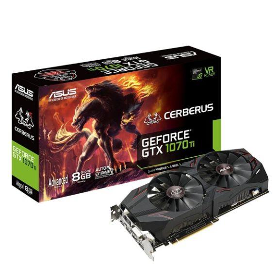 Superweekend Gaming bei Comtech - z.B. ASUS Radeon RX 570 4GB für 179€, ASUS GeForce Cerberus GTX 1070 TI Advanced Edition 8GB für 399€ uvm.