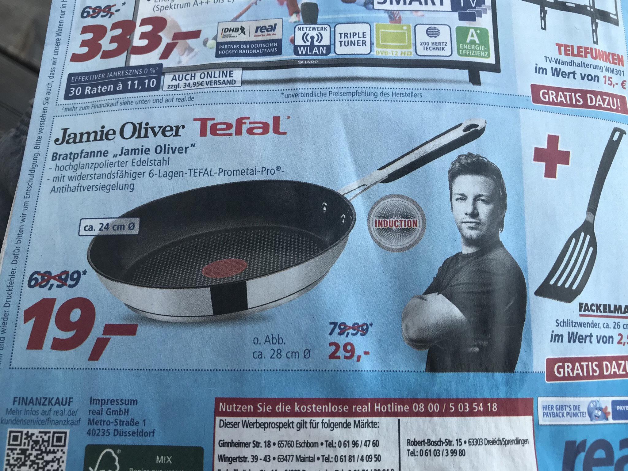 [REAL] Jamie Oliver Tefal (Edelstahl-)Bratpfanne 24cm