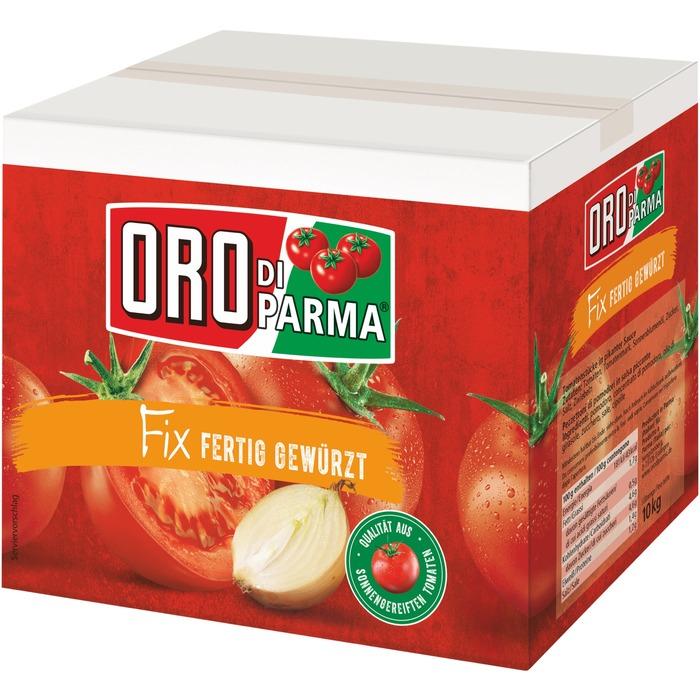 [Nordhessen] Für die Pizza: Oro di Parma (passierte Tomaten) fertig gewürzt 10kg für 4,99€ bei RB-Becker