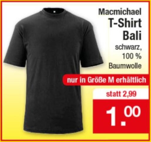 [Zimmermann] Simple Black T-Shirt ohne Aufdruck nur in Größe M (100% BW) für 1,00€ ab 06.08.2018