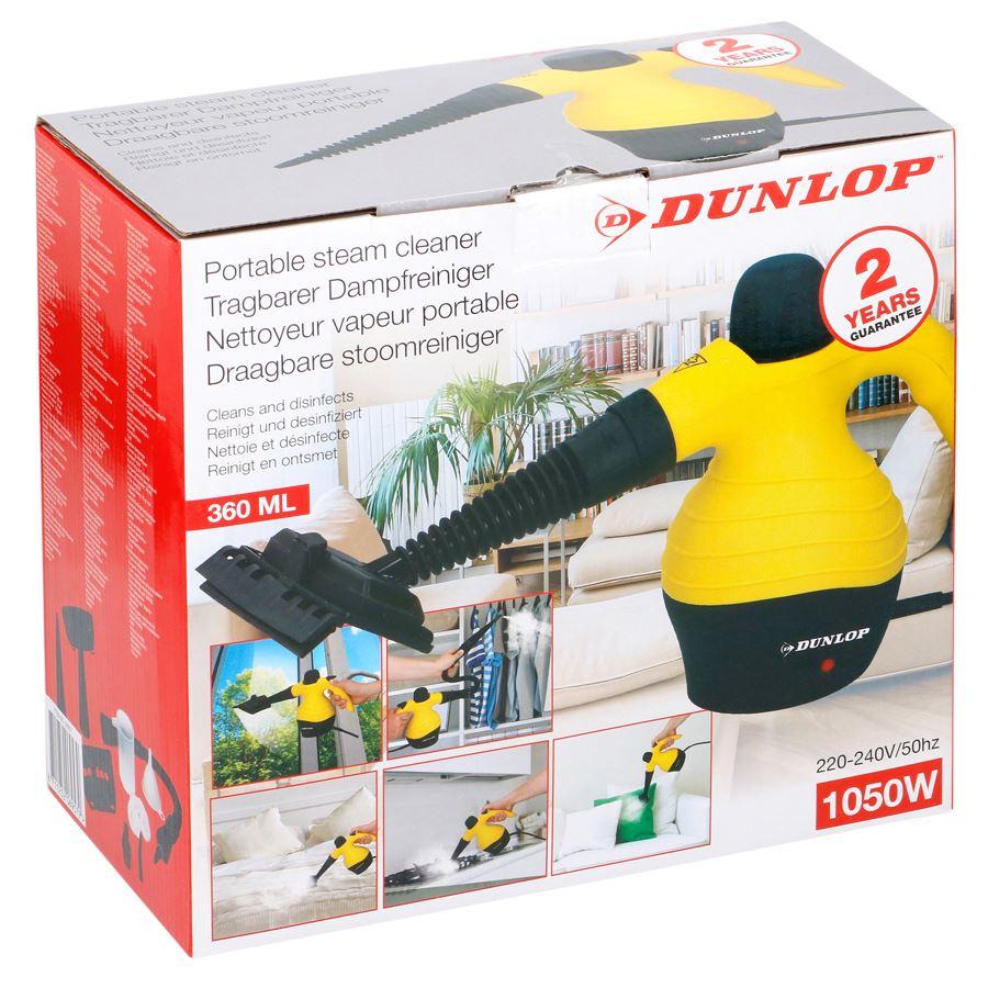 [Thomas Philipps] Dunlop Dampfreiniger 360ml 1050W für 19,95€ bis 08.08.18