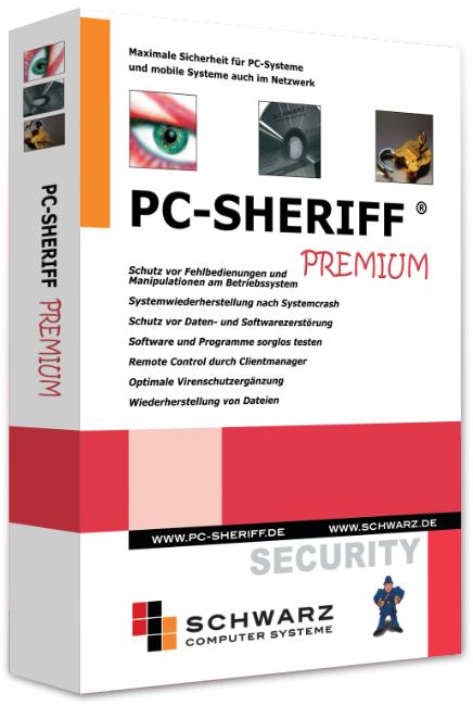 PC-Sheriff Premium (1 Jahreslizenz)