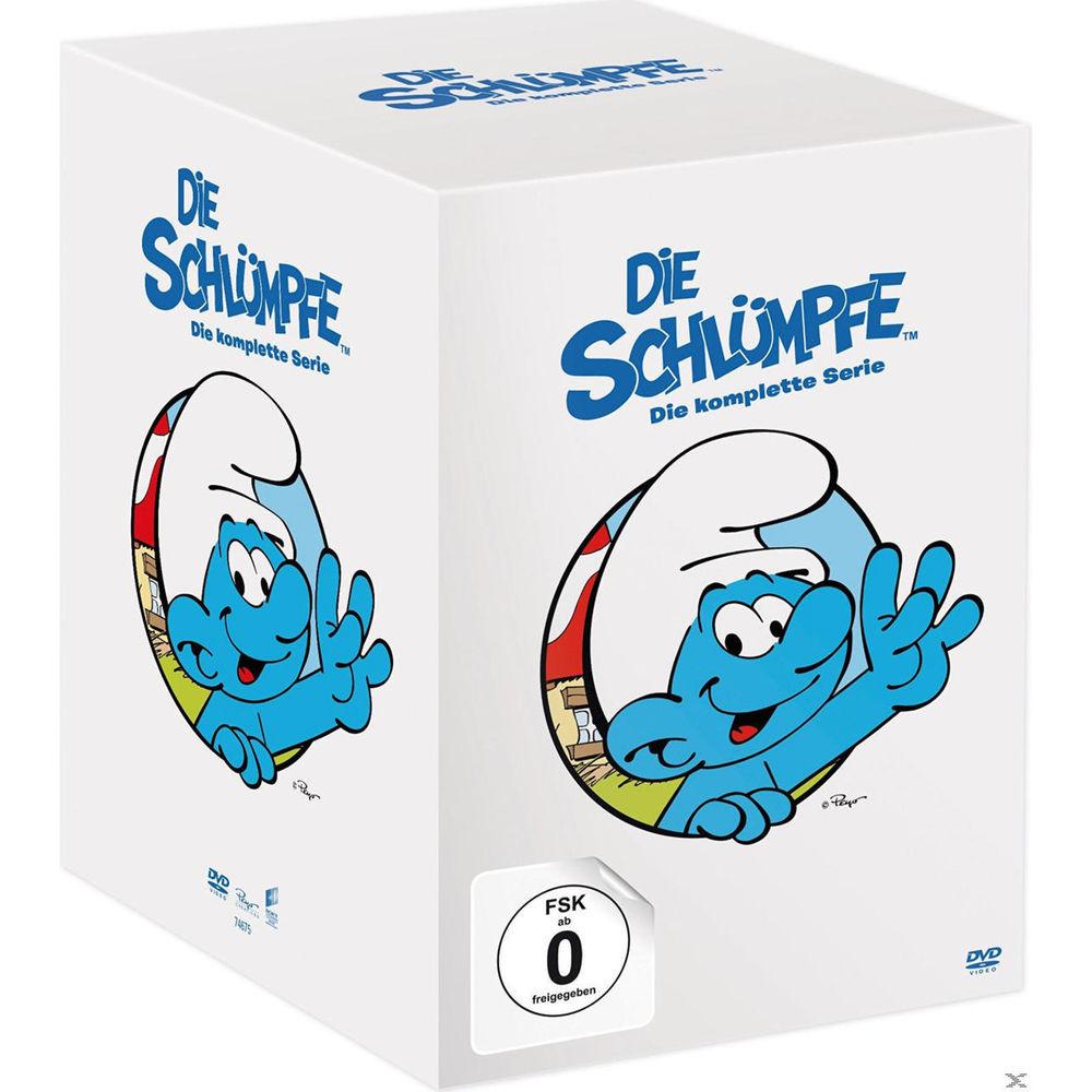Die Schlümpfe - Die komplette Serie (43 DVDs) - Neuer Bestpreis € 39,- bei amazon