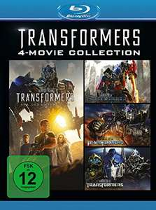 Transformers 1-4 (4-Movie Collection Blu-ray) für 12,99€ (Amazon Prime)