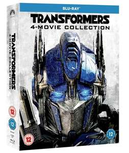 Transformers 1-4 Collection (Blu-ray) für 9,50€ (Zoom.co.uk)