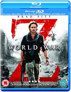 World War Z: Extended Action Cut (3D Blu-ray + Blu-ray) für 5,11€ (Zoom.co.uk)