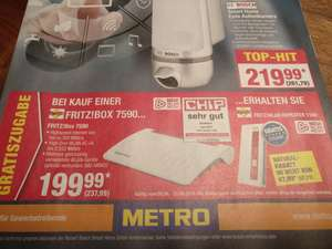 [Metro] Fritz!box 7590 + Fritz!Wlan Repeater 1160 im Bundle