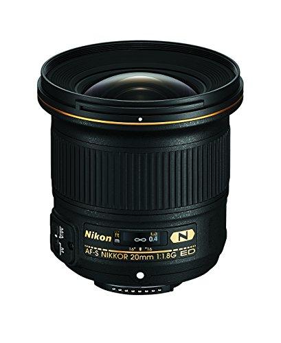Nikon AF-S Nikkor 20mm f1.8 G ED für 553,63€ [Amazon.es]