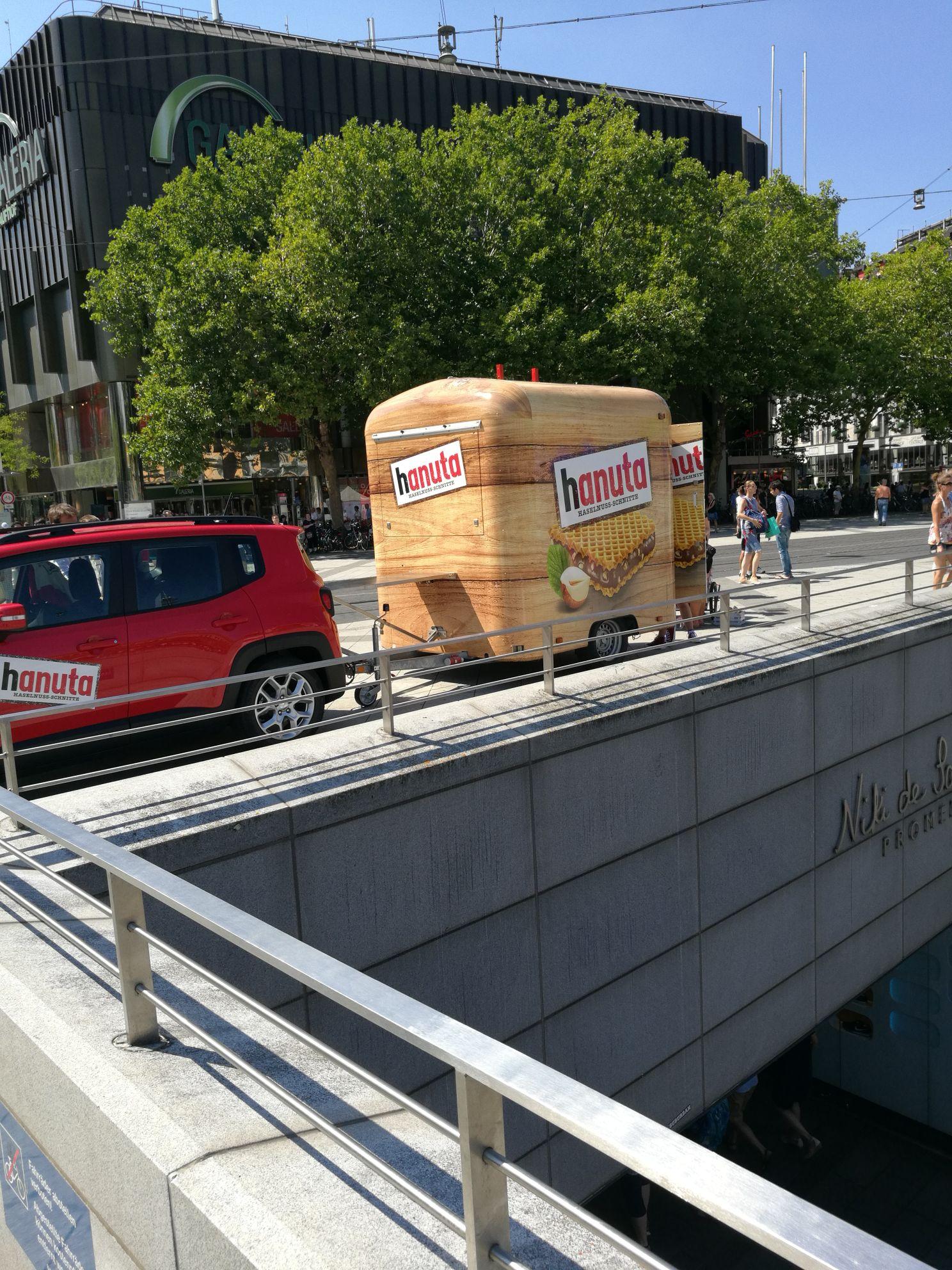 [Lokal Hannover Hbf] Gratis hanuta auf dem Ernst-August-Platz