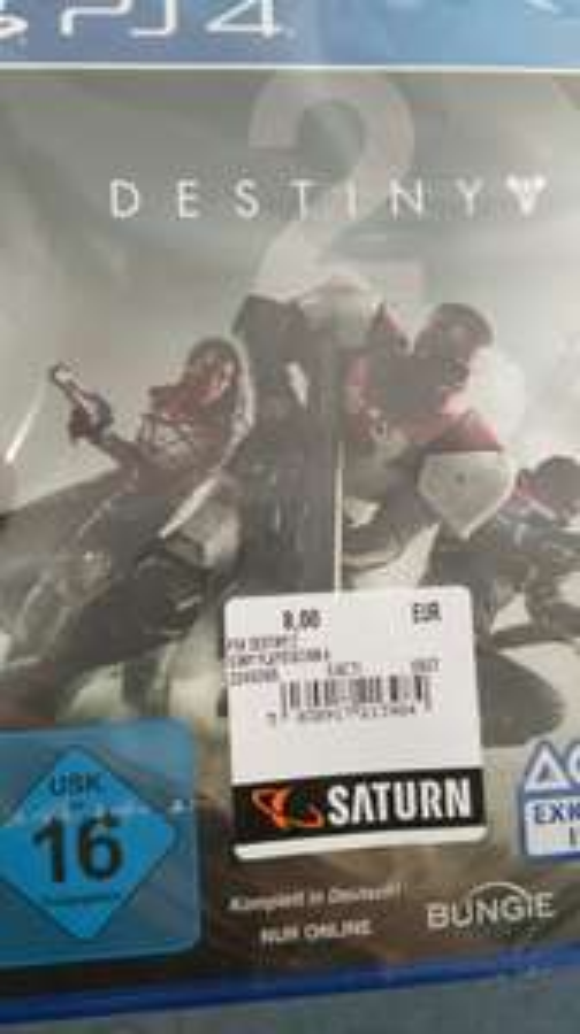 Lokal: Destiny 2 für PS4 im Saturn Wuppertal
