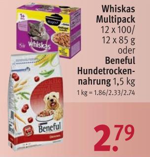 [Rossmann+App] 18 KG Purina Beneful Hundetrockenfutter