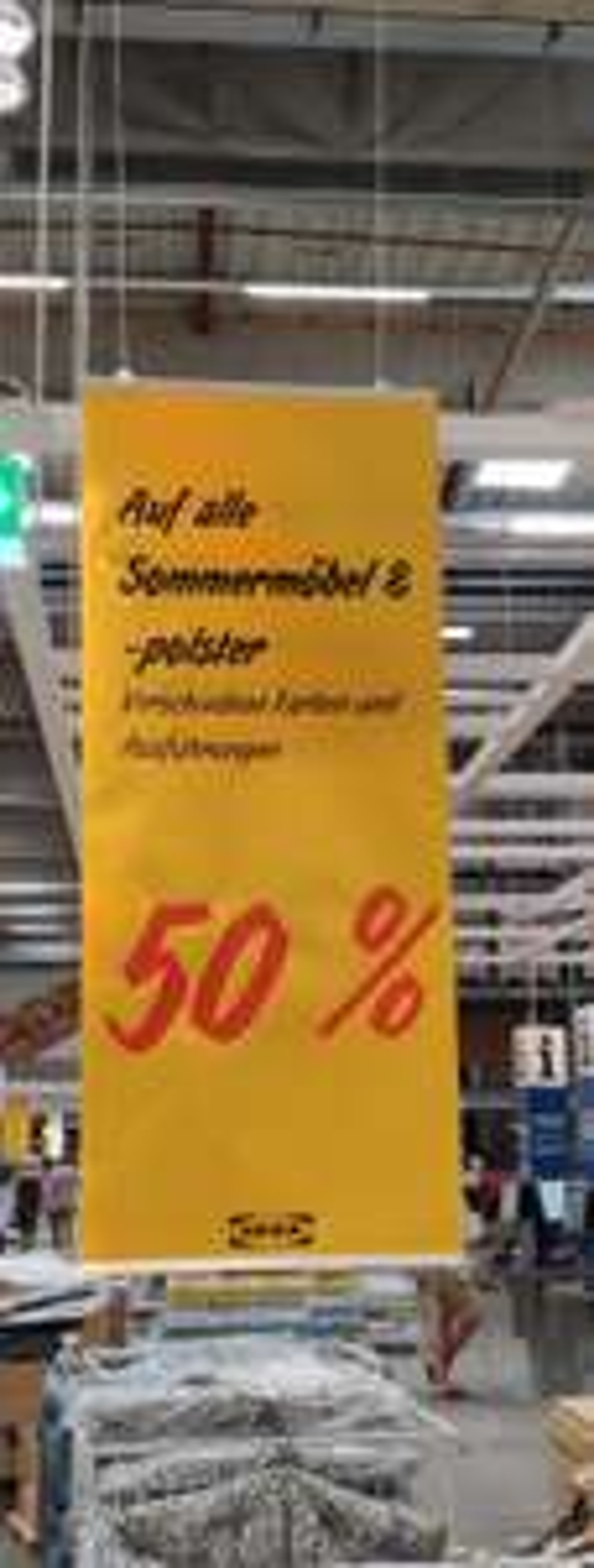 [Ikea Bielefeld] 50% auf alle Sommermöbel und -polster