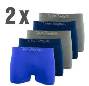[TOP12] Lee Cooper Boxershorts 10er Pack navy / blau / grau