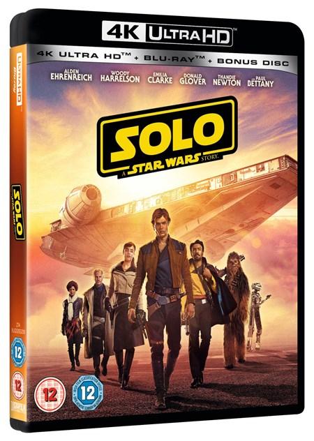 [Zoom.co.uk] Solo 4k - A Star Wars Story - Bluray - inkl. deutschen Ton