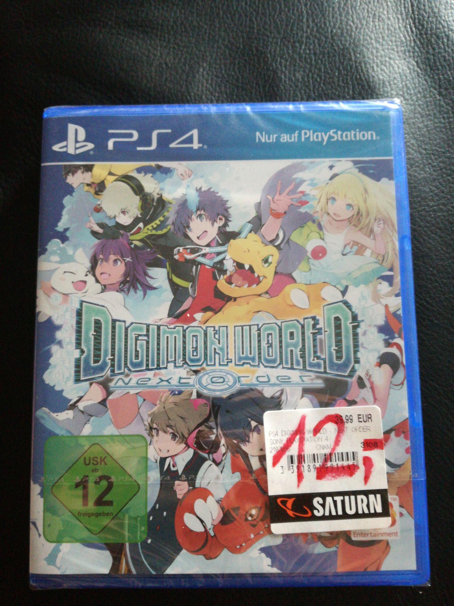 (Lokal Saturn Hattingen) Digimon Next Order PS4