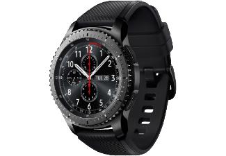 Samsung Gear S3 Classic oder Frontier (3,3 cm (1,3 Zoll) Display, NFC, Bluetooth, WLAN, Tizen OS), mit Echtleder-Armband ab 189,-€ bei Masterpasszahlung [Saturn]