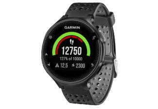 GARMIN Forerunner 235 WHR, Smartwatch, 227 mm, Silikon, Schwarz/Grau [Saturn / Masterpass]