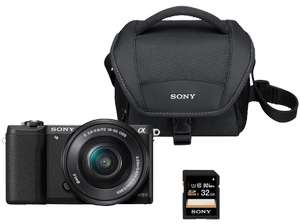 [Media Markt] SONY Alpha 5100 Kit Systemkamera 24.3 Megapixel mit Objektiv 16-50 mm f/5.6, 7.62 cm Display Touchscreen, WLAN