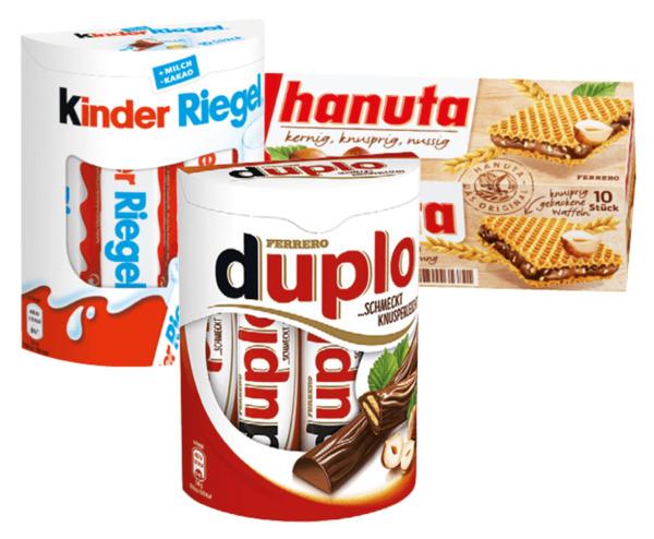 3 Ferrero Süßigkeiten für 5€
