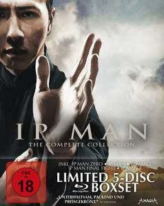 Ip Man - The Complete Collection Limited Digipak Edition (5-Disc Blu-ray) für 17€ versandkostenfrei (Media Markt)