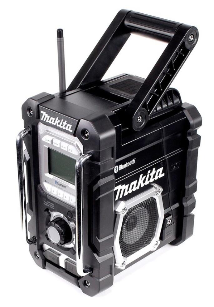 Makita Akku Baustellenradio DMR106B UKW/MW mit Bluetooth für Li-ion Akku 7,2-18V solo