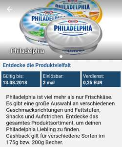 [Reebate + Real Berlin] Philadelphia 175g oder 200g