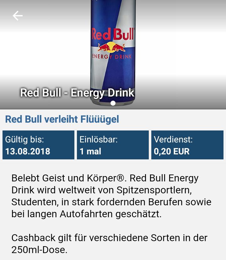 [Real Berlin+ Reebate] Red Bull 250ml