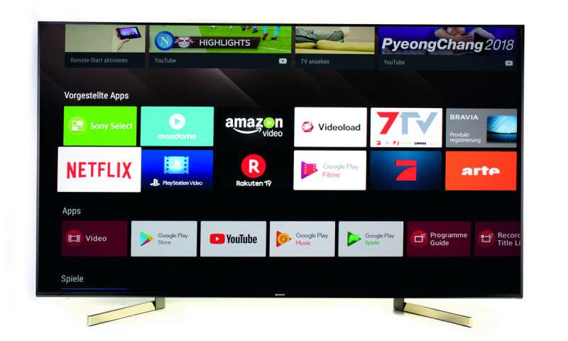 Sony TV KD 65XF9005 Full LED mit Android neuer Bestpreis [Bravia 65 XF 9005]