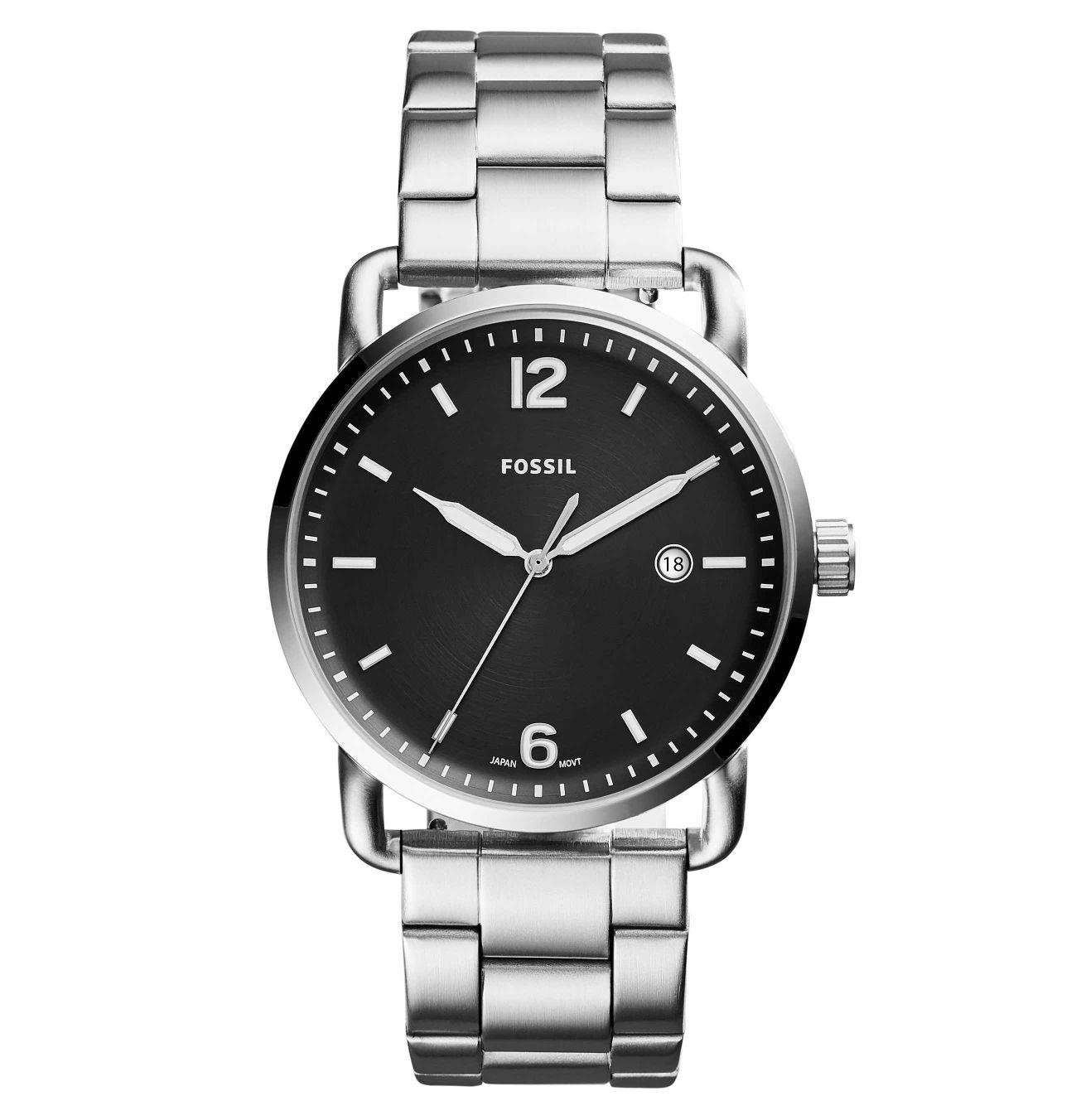 [Galeria] Herren Armbanduhr Fossil FS5391 in Silber