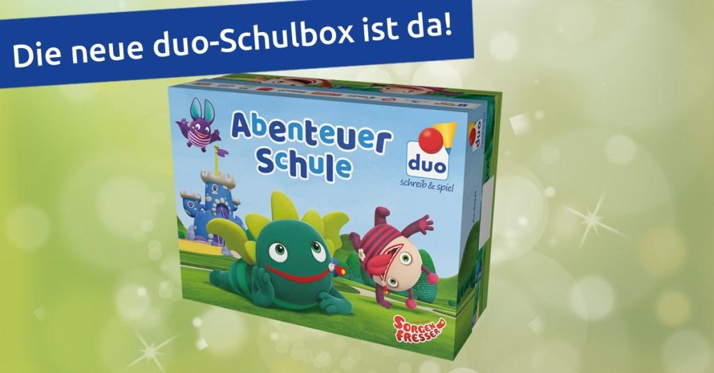 Duo-Schulbox 2018 im Wert von 30€ kostenlos (ab 30€ MBW duo-shop.de; Spielzeug, Schreibwaren)