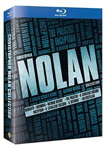 Christopher Nolan Boxset (12x Blu-ray) für 24,77€ (Amazon.es)