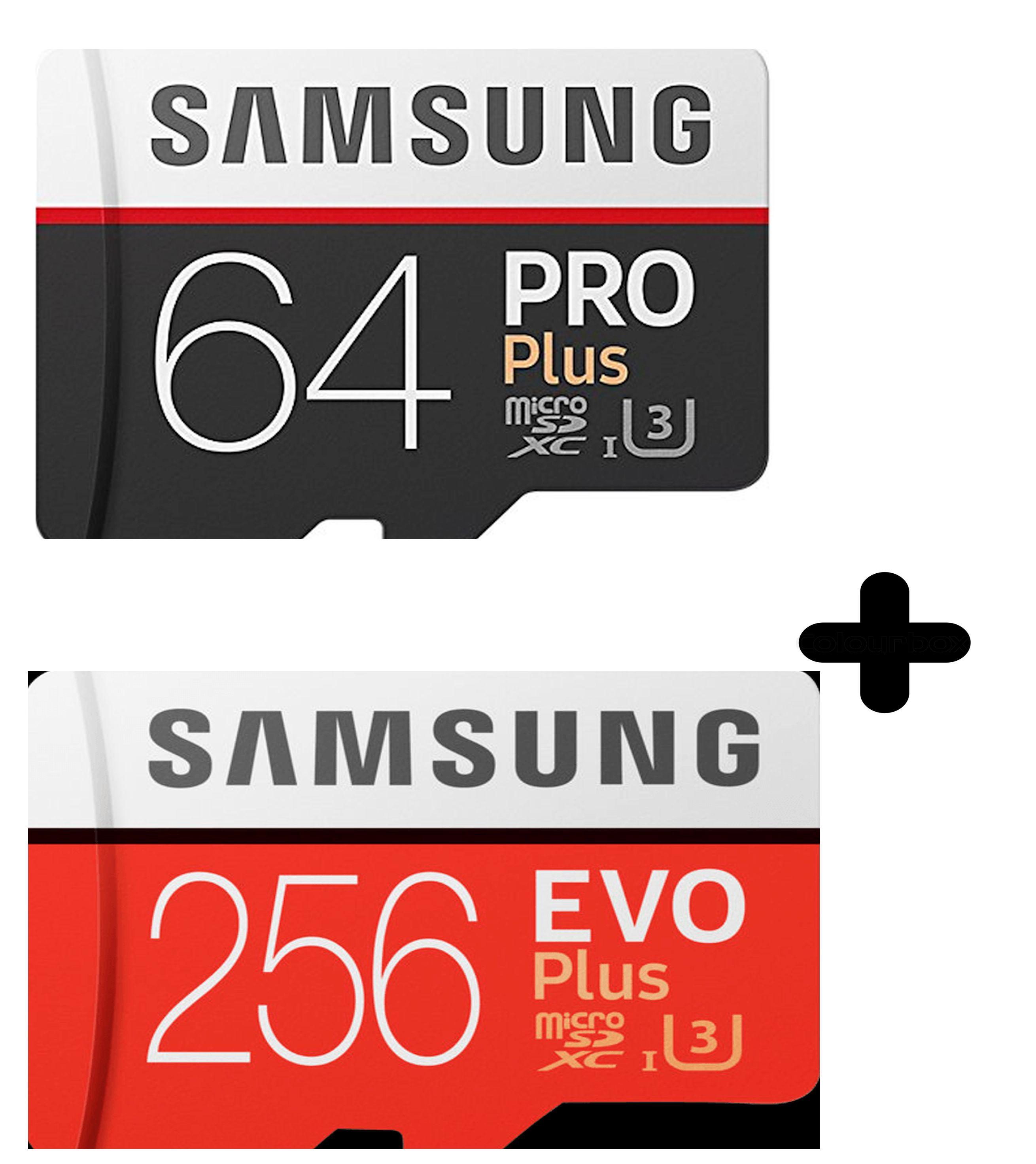 (MediaMarkt+Masterpass) Samsung Evo Plus micro SD 256GB und Samsung Pro Plus  64GB