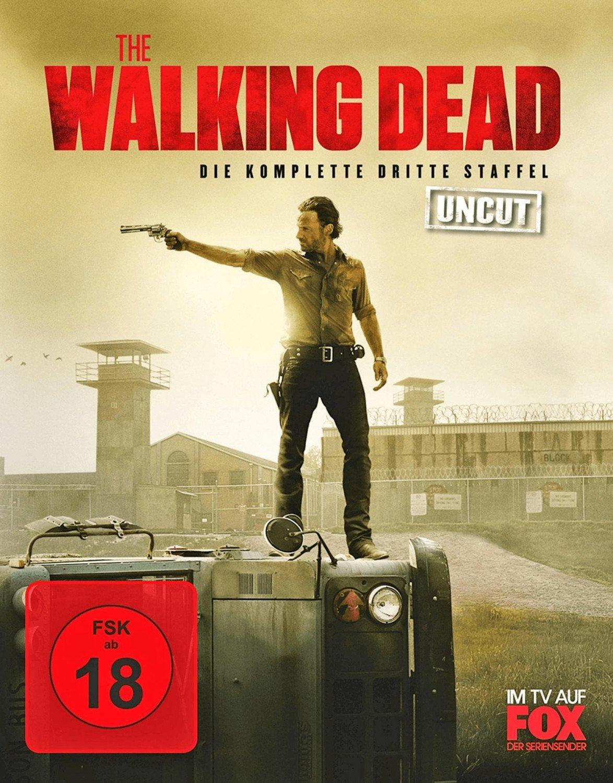 The Walking Dead - Die komplette dritte Staffel Uncut (Blu-ray) für 12,99€ (Amazon)