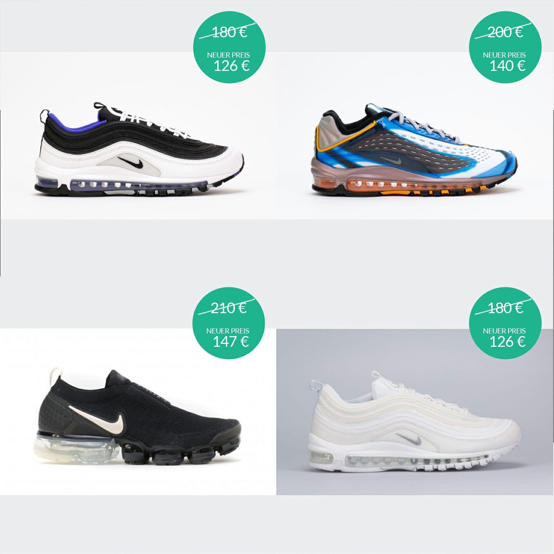 Großer Sale mit 30% Rabatt auf alles von Nike (auch Sale) bei Tint *Abgelaufen*